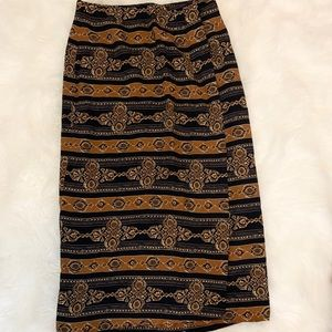 Chaus | VINTAGE long Asymmetrical Skirt